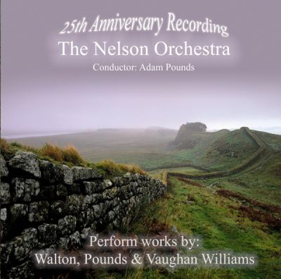 25th Anniversary Recording Works by Walton, Pounds & Vaughan Williams album cover